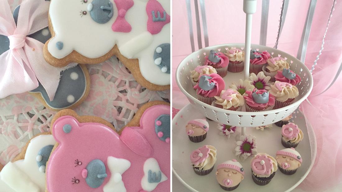 Detalle Galletas y Cupcakes